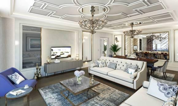 Evmoda Mobilya - Oturma Odası ve Yemek Odası Dekorasyon Projemiz