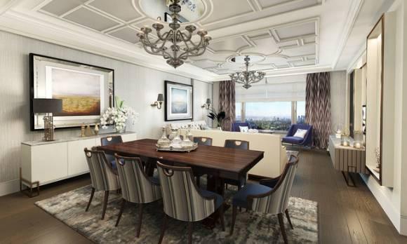 Evmoda Mobilya - Oturma Odası ve Yemek Odası Dekorasyon Projemiz (1)