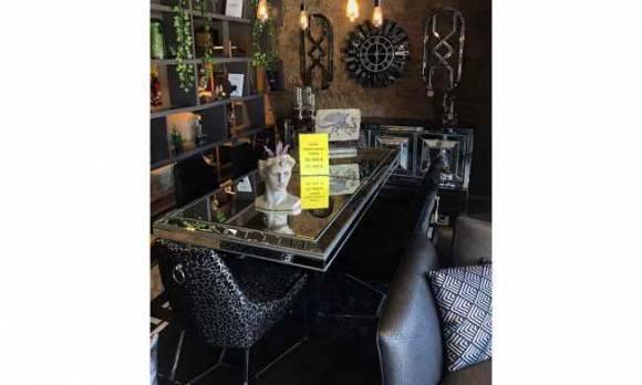 Evmoda Mobilya - Gucci Yemek Odası Takımı (Mağaza Teşhiri)