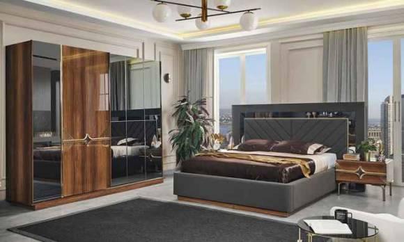 Evmoda Mobilya - Peryo Modern Yatak Odası Takımı