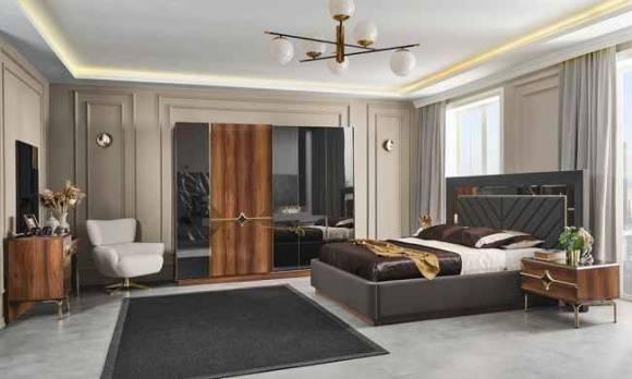 Evmoda Mobilya - Peryo Modern Yatak Odası Takımı (1)