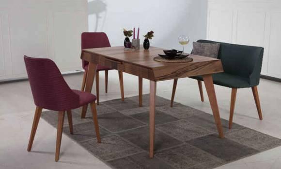 Evmoda Mobilya - Petra Mutfak Masası Takımı (1)