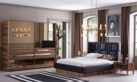 Evmoda Mobilya - Pierra Modern Yatak Odası Takımı