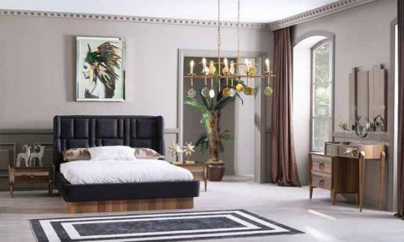 Evmoda Mobilya - Pierra Modern Yatak Odası Takımı (1)
