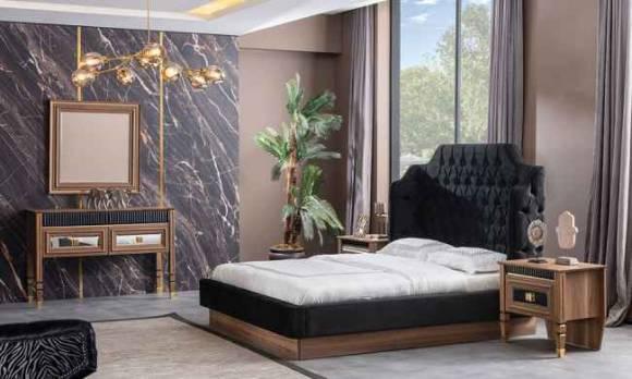 Evmoda - Polen Ceviz Modern Yatak Odası Takımı (1)