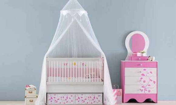 Evmoda Mobilya - Pretty Bebek Odası Takımı (1)