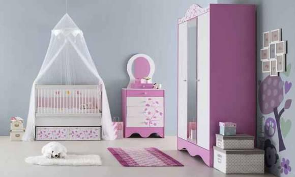 Evmoda Mobilya - Pretty Bebek Odası Takımı