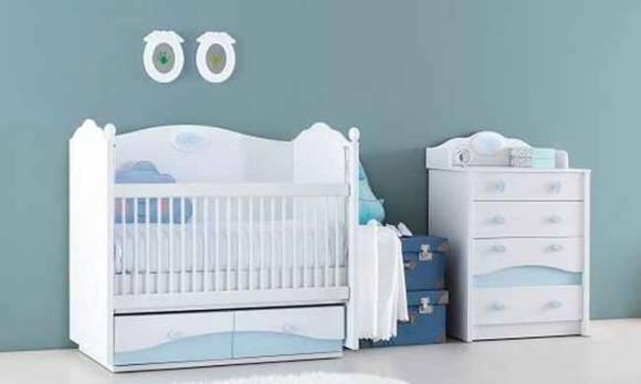 Evmoda Mobilya - Prince Bebek Odası Takımı (1)