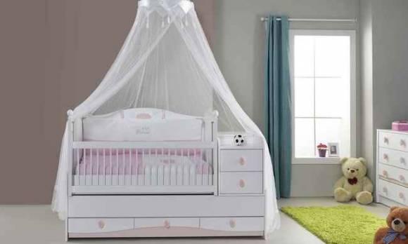 Evmoda Mobilya - Princess Bebek Odası Takımı (1)