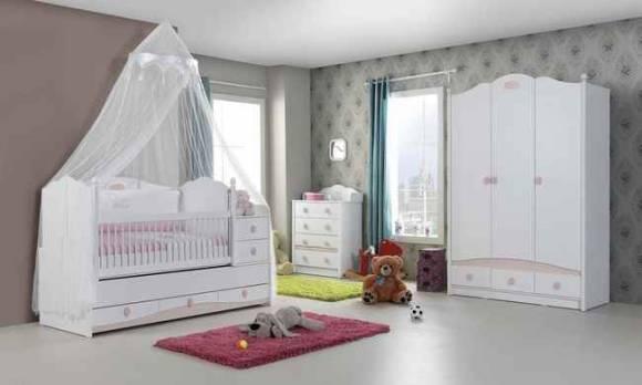 Evmoda Mobilya - Princess Bebek Odası Takımı