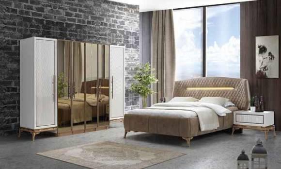 Evmoda Mobilya - Quatro Modern Yatak Odası Takımı