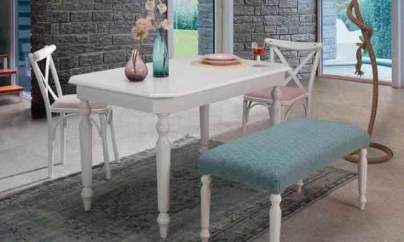 Evmoda Mobilya - Queen Mutfak Masası Takımı