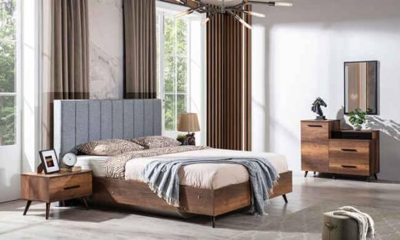 Evmoda Mobilya - Roma Modern Yatak Odası Takımı (1)