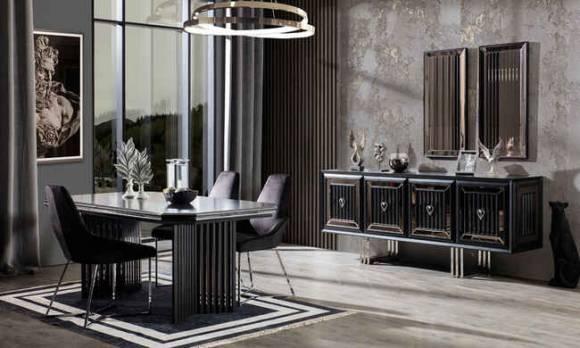 Evmoda Mobilya - Rubens Modern Yemek Odası Takımı