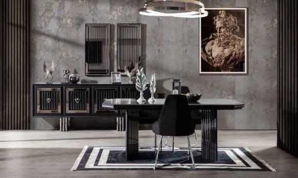 Evmoda Mobilya - Rubens Modern Yemek Odası Takımı (1)