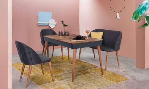 Evmoda Mobilya - Ruby Mutfak Masası Takımı