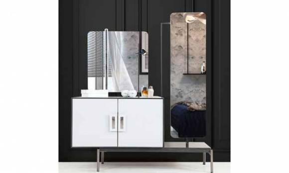 Evmoda Mobilya - Sahra Şifonyer Ve Aynası