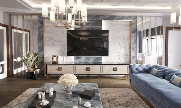 Evmoda Mobilya - Modern Salon Mobilya Projemiz (1)