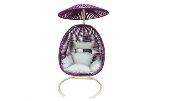 Evmoda Mobilya - Şapkalı Bahçe Salıncağı (1)