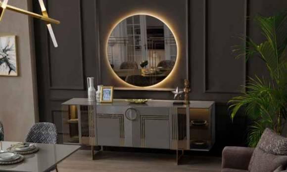 Evmoda Mobilya - Sidelya Konsol Ve Aynası