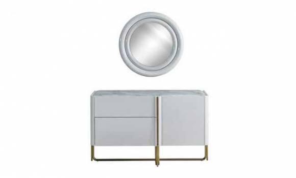Evmoda Mobilya - Sidem Şifonyer ve Aynası (1)