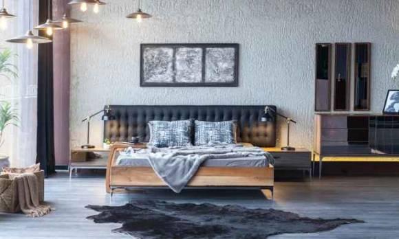 Evmoda Mobilya - Silver Modern Yatak Odası Takımı (1)