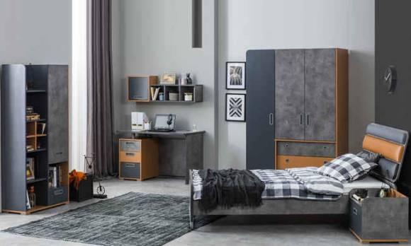 Evmoda Mobilya - Simple Modern Genç Odası Takımı