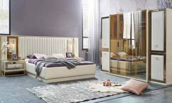 Evmoda Mobilya - Sofia Modern Yatak Odası Takımı