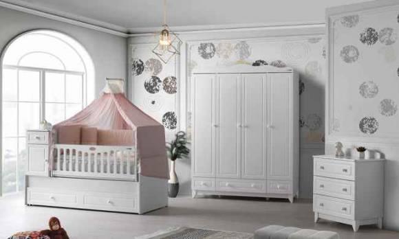 Evmoda Mobilya - Stil Maxi Bebek Odası Takımı