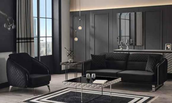 Evmoda Mobilya - Suare Modern Koltuk Takımı (1)