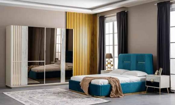 Evmoda Mobilya - Tatia Modern Yatak Odası Takımı