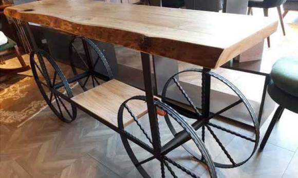 Evmoda Mobilya - Tekerlekli Dresuar