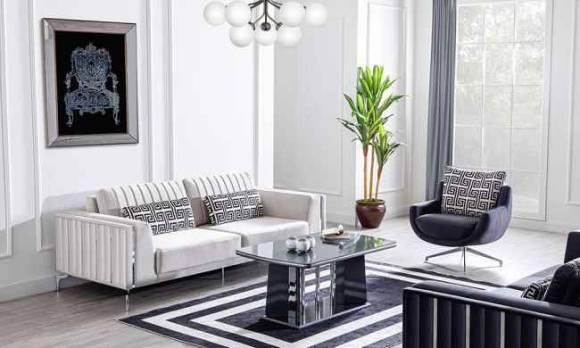 Evmoda Mobilya - Titanyum Modern Koltuk Takımı (1)