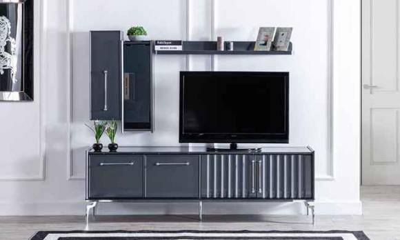 Evmoda Mobilya - Titanyum Modern Tv Ünitesi