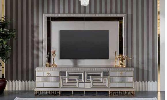 Evmoda Mobilya - Valeria Art Deco Tv Ünitesi