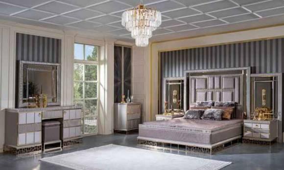 Evmoda Mobilya - Valeria Art Deco Yatak Odası Takımı (1)