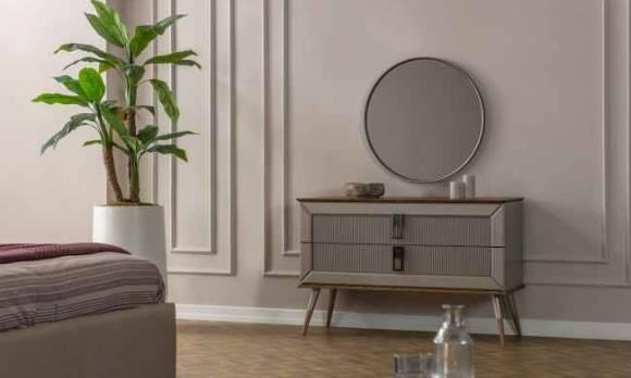 Evmoda Mobilya - Velora Şifonyer ve Aynası