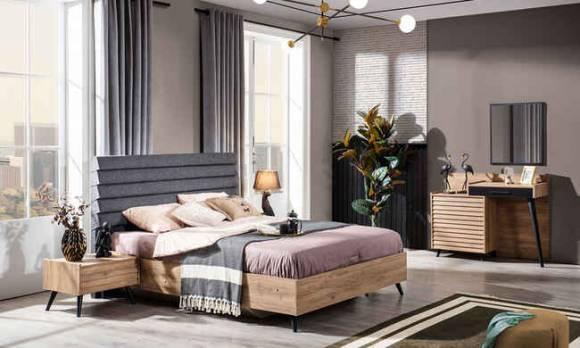 Evmoda Mobilya - Venedik Modern Yatak Odası Takımı (1)
