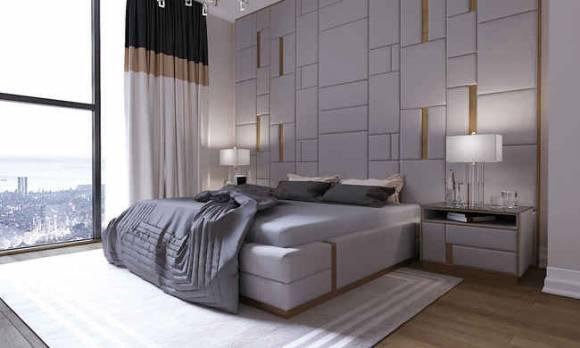 Evmoda Mobilya - Modern Yatak Odası Tasarım Projemiz