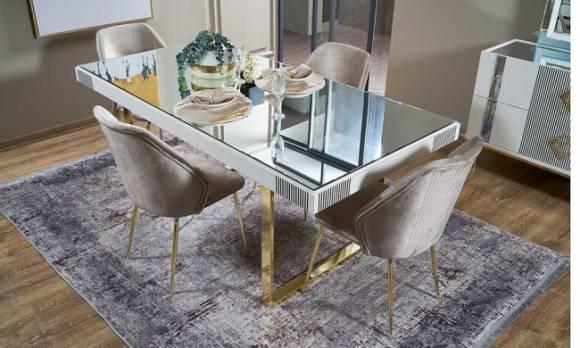 Evmoda Mobilya - Yıldız Yemek Masası