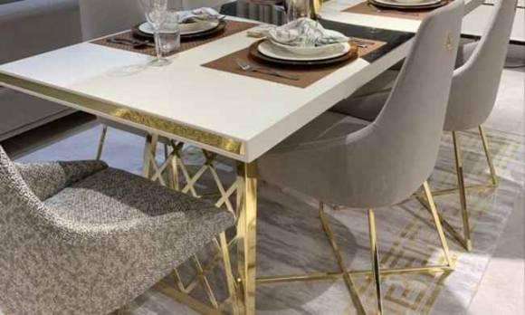 Evmoda Mobilya - Uludağ Gold Sandalye