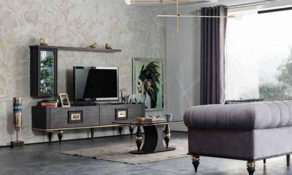 Evmoda Mobilya - Zeny Art Deco Tv Ünitesi