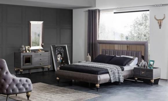 Evmoda Mobilya - Zeny Art Deco Yatak Odası Takımı (1)