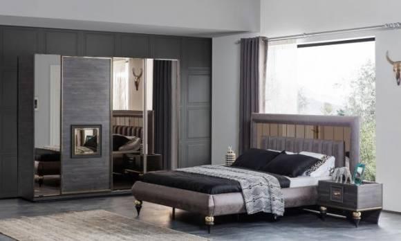 Evmoda Mobilya - Zeny Art Deco Yatak Odası Takımı