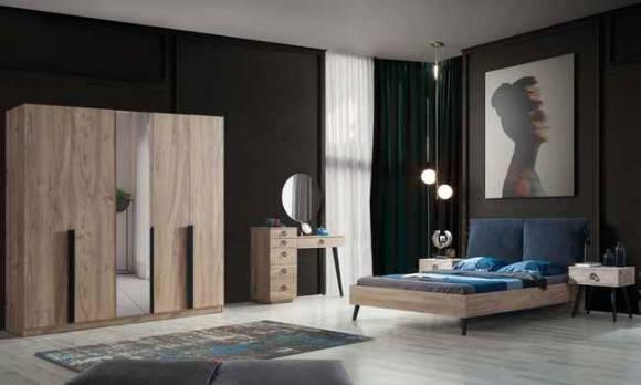 Evmoda Mobilya - Zerrin Modern Yatak Odası Takımı